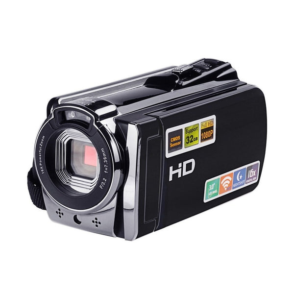 "Camcorder WIFI Camera Video Camcorder DV with Remote 16X Zoom HD IR Night Vision 3.0"" LCD Touch Screen Digital Photo Camera Professional"