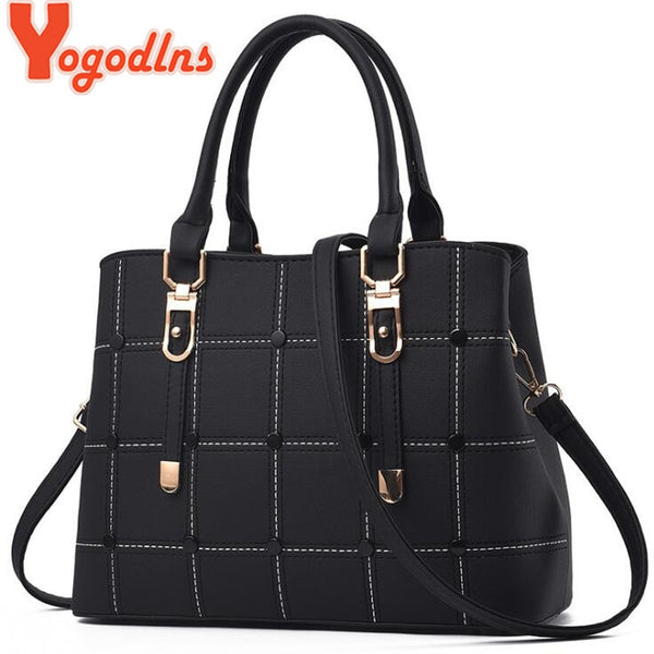 Yogodlns Women's PU Leather Shoulder Bag Women's Handbag Bags Crossbody Bags for women Shoulder Bag