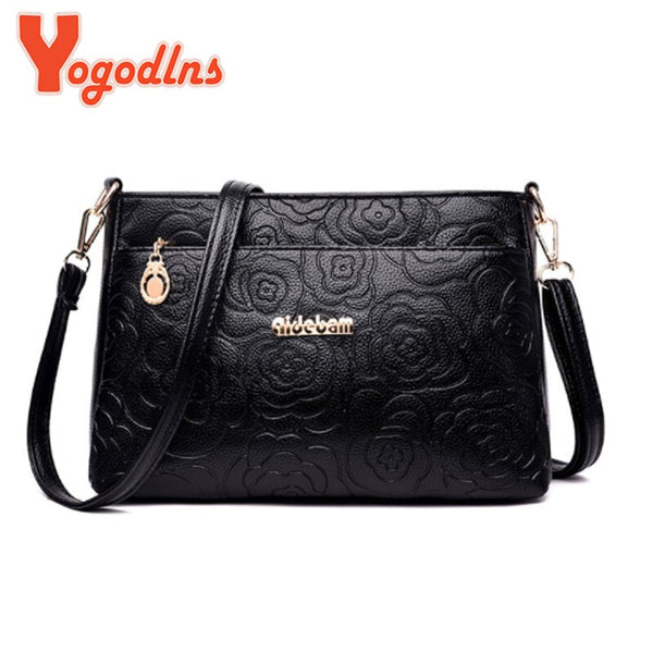 Yogodlns Women's Luxury Handbag Crossbody Shoulder Bag PU Leather Shoulder Bag