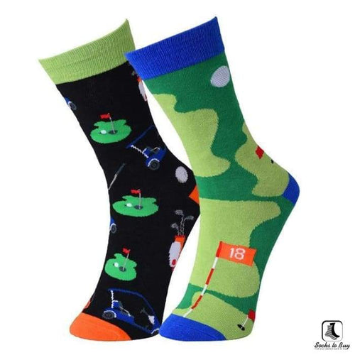 18 Holes Golf Mixups Socks - Socks to Buy 1