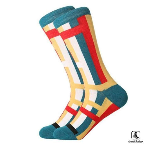 1990s Dark Combed Cotton Socks - Socks to Buy 1