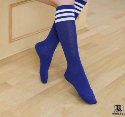 3 Stripes Long Compression Sports Socks - Socks to Buy 1