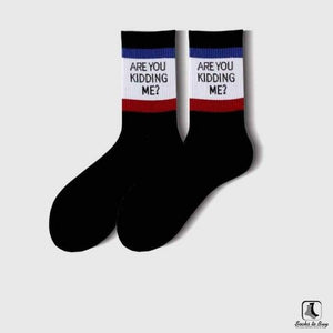 Are You Kidding Me Tube Socks - Socks to Buy 1