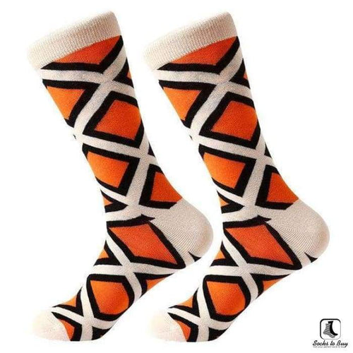 Argyle Different Cotton Socks - Socks to Buy 1