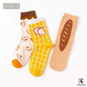 Breads Sock Set - Socks to Buy 1
