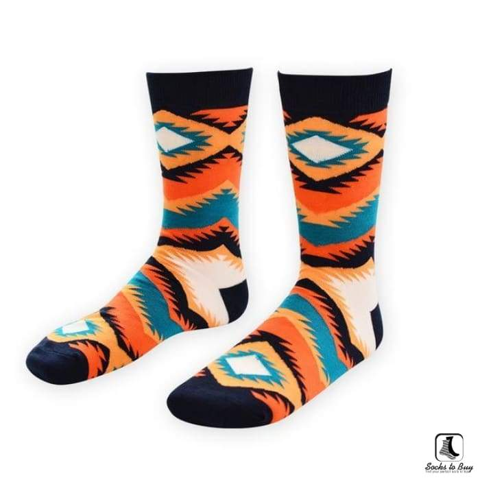 Celebrate the Southwest Leisure Dress Socks - Socks to Buy 2