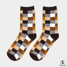 Load image into Gallery viewer, Chickety Check Leisure Dress Socks - Socks to Buy 1
