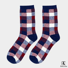 Load image into Gallery viewer, Chickety Check Leisure Dress Socks - Socks to Buy 2