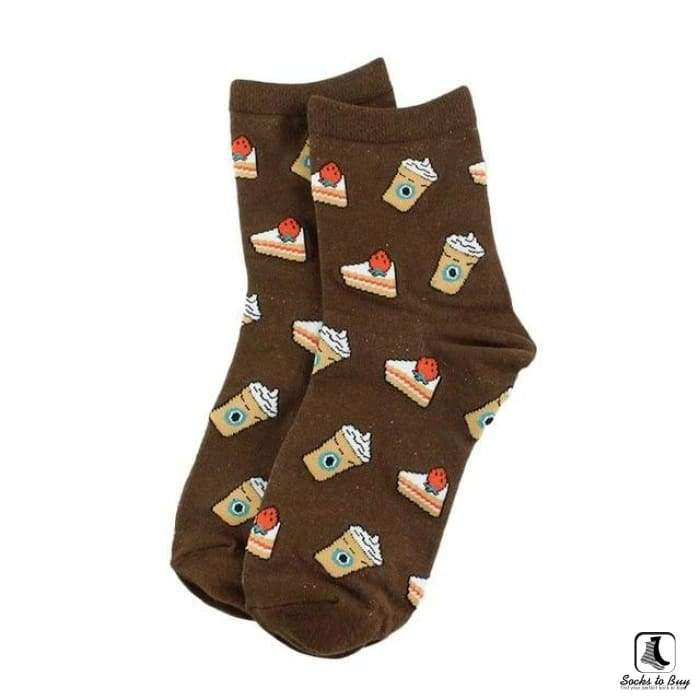 Coffee & Pie Socks - Socks to Buy 1