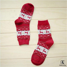 Load image into Gallery viewer, Cozy Winter Christmas Holiday Socks - Socks to Buy 5