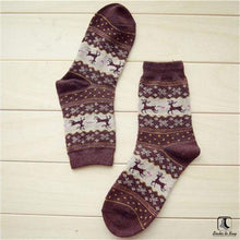 Load image into Gallery viewer, Cozy Winter Christmas Holiday Socks - Socks to Buy 4
