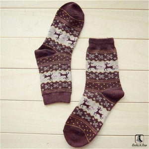Cozy Winter Christmas Holiday Socks - Socks to Buy 4