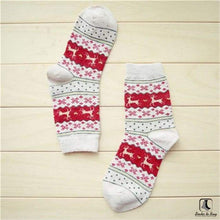Load image into Gallery viewer, Cozy Winter Christmas Holiday Socks - Socks to Buy 2