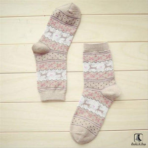 Cozy Winter Christmas Holiday Socks - Socks to Buy 1