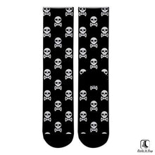 Load image into Gallery viewer, Crazy About Skullz Socks - Socks to Buy 3