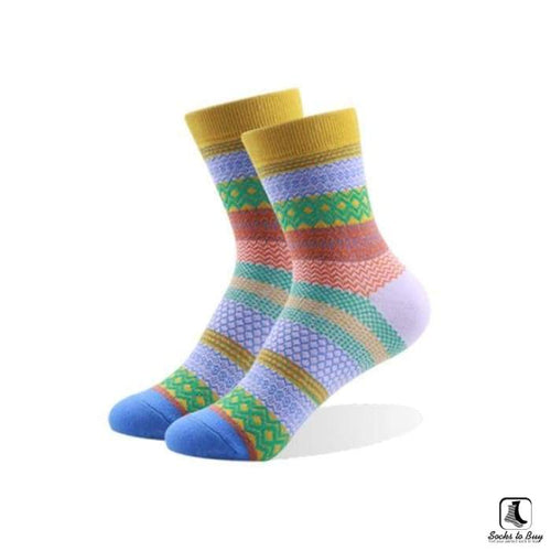 Diamond Stripes Socks