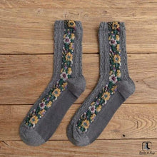 Load image into Gallery viewer, Flowers and Whimsy Socks - Socks to Buy 2