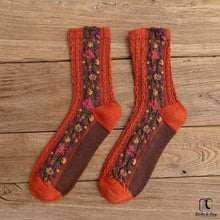 Load image into Gallery viewer, Flowers and Whimsy Socks - Socks to Buy 3