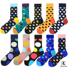 Load image into Gallery viewer, Gimme All The Dots Polka Dot Socks - Socks to Buy 1