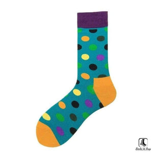 Gimme All The Dots Polka Dot Socks - Socks to Buy 8