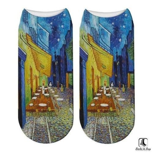 Great Works of Art Ankle Socks