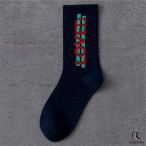 Imperative Statements Wordy Cotton Crew Socks - Socks to Buy 2