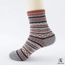 Load image into Gallery viewer, Patterns of Winter Comfy Socks - Socks to Buy 4