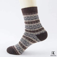 Load image into Gallery viewer, Patterns of Winter Comfy Socks - Socks to Buy 2