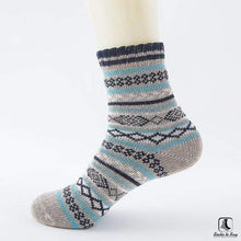 Load image into Gallery viewer, Patterns of Winter Comfy Socks - Socks to Buy 19