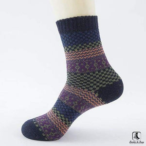 Patterns of Winter Comfy Socks - Socks to Buy 3