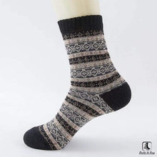 Load image into Gallery viewer, Patterns of Winter Comfy Socks - Socks to Buy 6