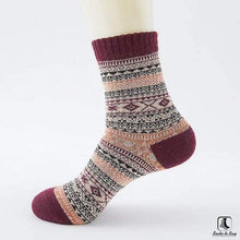 Load image into Gallery viewer, Patterns of Winter Comfy Socks - Socks to Buy 16