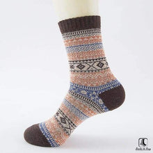 Load image into Gallery viewer, Patterns of Winter Comfy Socks - Socks to Buy 15
