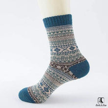 Load image into Gallery viewer, Patterns of Winter Comfy Socks - Socks to Buy 5