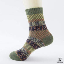 Load image into Gallery viewer, Patterns of Winter Comfy Socks - Socks to Buy 21