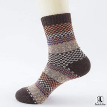 Load image into Gallery viewer, Patterns of Winter Comfy Socks - Socks to Buy 14