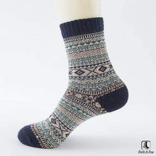 Load image into Gallery viewer, Patterns of Winter Comfy Socks - Socks to Buy 12