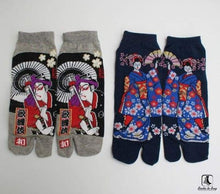 Load image into Gallery viewer, Samurai Tabi Socks - Socks to Buy 16