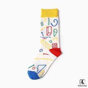 Science Technology Engineering Math (STEM) Socks - Socks to Buy 4