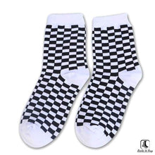 Load image into Gallery viewer, Sillitoe Square Tiling Check Socks - Socks to Buy 5
