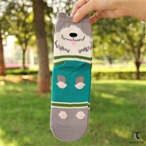 Sit Beg Stay Cute Doggy Socks - Socks to Buy 1