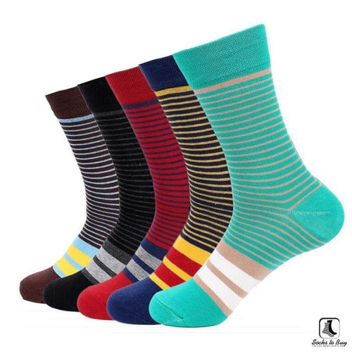 Skinny Thicc Stripe Socks - Socks to Buy 1