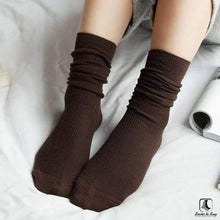 Load image into Gallery viewer, Solid Slouch Socks - Socks to Buy 9