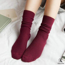 Load image into Gallery viewer, Solid Slouch Socks - Socks to Buy 5