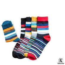 Load image into Gallery viewer, Stripey Clean Striped Socks - Socks to Buy 2