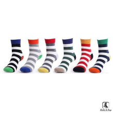 Load image into Gallery viewer, Stripey Clean Striped Socks - Socks to Buy 1