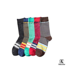Load image into Gallery viewer, Stripey Clean Striped Socks - Socks to Buy 4