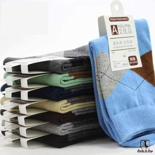 The Argyle Connection Casual Leisure Socks - Socks to Buy 1