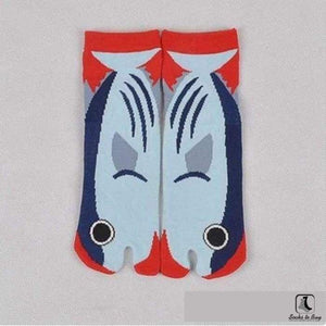 The Nonconformist Tabi Kimono Flip-Flop Socks - Socks to Buy 1