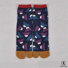 Load image into Gallery viewer, The Nonconformist Tabi Kimono Flip-Flop Socks - Socks to Buy 6